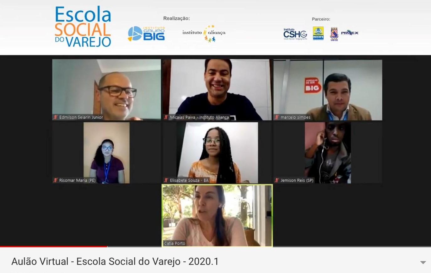 Aulão virtual da ESV