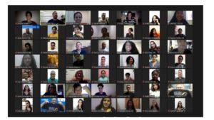 Aula inaugural virtual da ESV