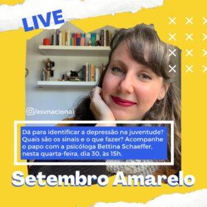Live debate Setembro Amarelo
